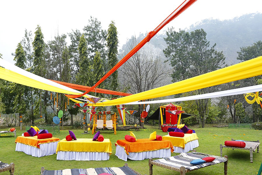 The beauty of Jim Corbett for embracing the rituals of your destination wedding